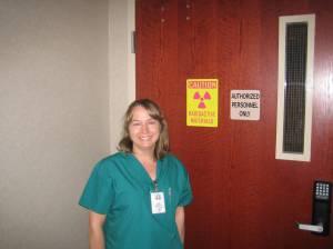 Amy Martin, Nuclear Technician