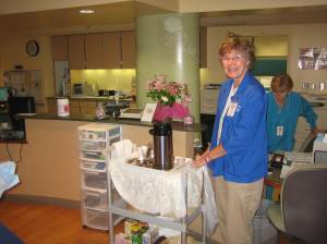 Service with a smile from Susan