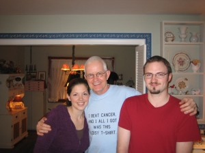 Julie, me and cousin Andrew