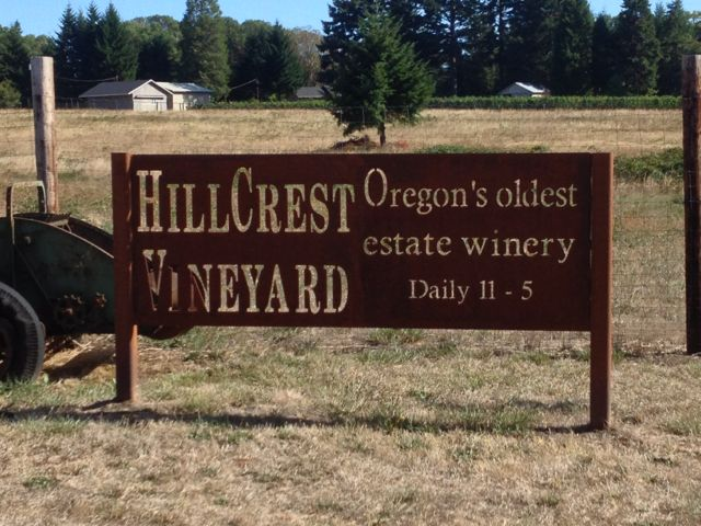 Oldest Estate Winery in OR.